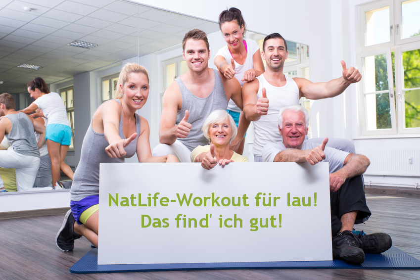 NatLife-Workout für lau